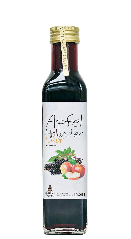 Der Apfel-Holunder-Likör